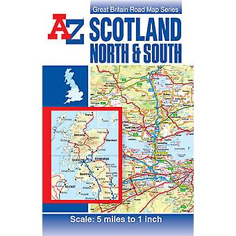 Scotland Road Map (26th edition) by Geographers' A-Z Map Company - Ge