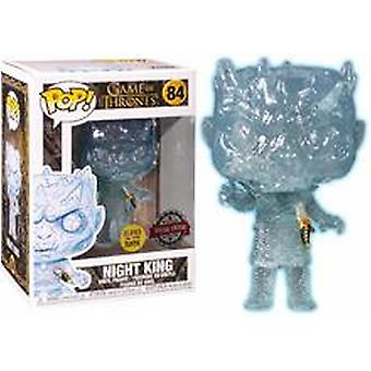 Funko Game Of Thrones Crystal Night King With Dagger Glow - Protecteur Pop