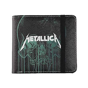 Metallica portemonnee Doris Skull band logo nieuwe officiële zwarte Bifold