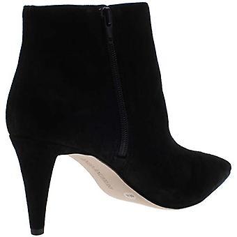 Enzo Angiolini Womens Paizley Suede Pointed Toe Booties Black 9 Medium (B,M)