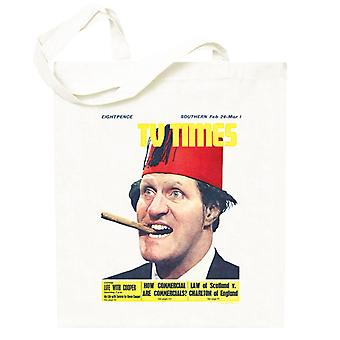 TV Times Tommy Cooper 1967 Cover Totebag