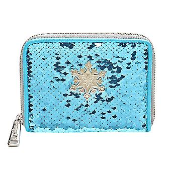 Loungefly x Disney Frozen Elsa Reversible Sequin Purse