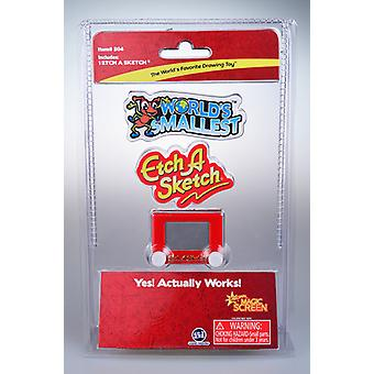 Worlds Smallest Etch a Sketch USA import