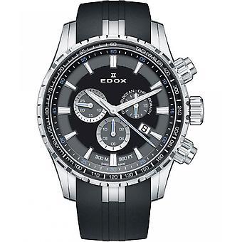Edox Men's Watch 10226 3CA NBUN Chronographs, Diver's Watch