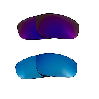 Replacement Lenses for Oakley Fives 4.0 Sunglasses Multi-Color Anti-Scratch Anti-Glare UV400 by SeekOptics