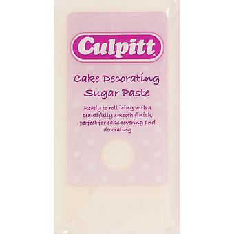 Bolo de Culpitt que decora o marfim 8 x 250g da pasta de açúcar