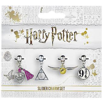Harry Potter Silver Plated Charms (Set Of 4)