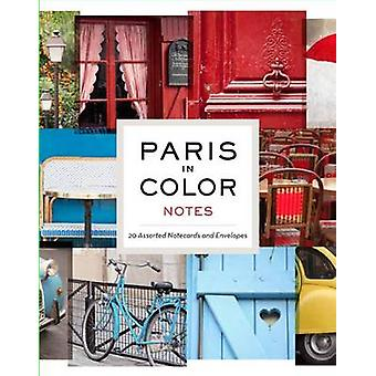 Paris em Notas coloridas por Nichole Robertson