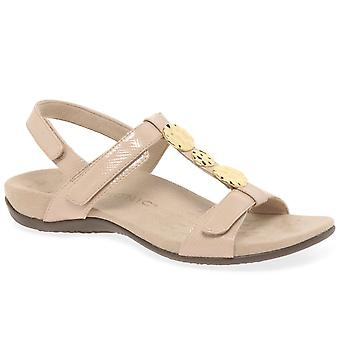 Vionic Farra Womens Patent Casual Sandals