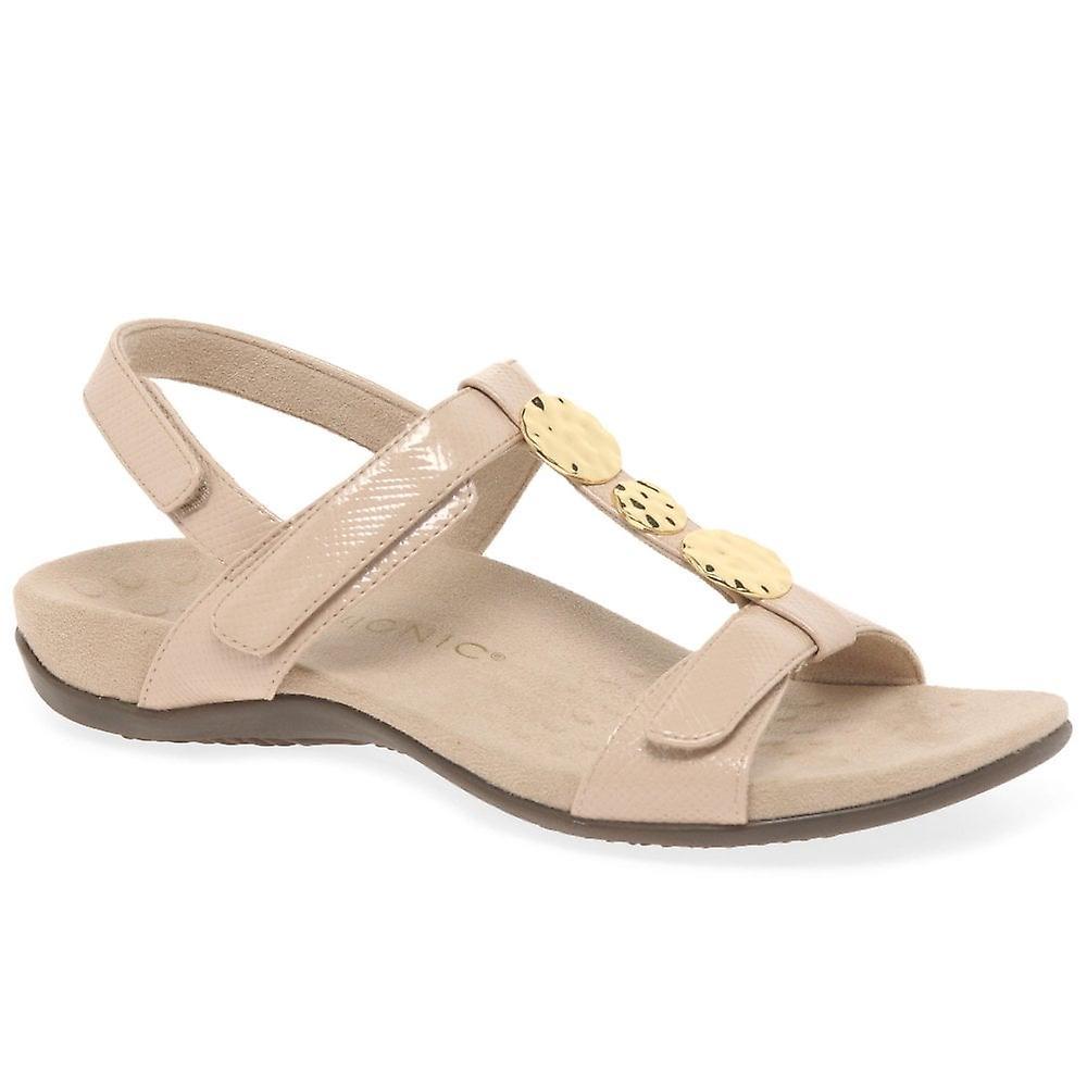 Vionic Farra damskie patent casual sandały fPQmr