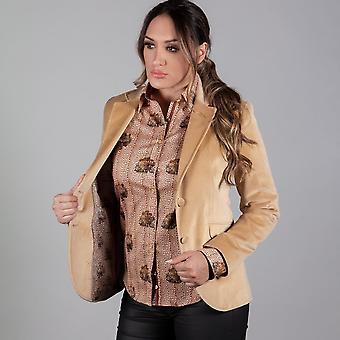 CLAUDIO LUGLI Velvet California Ladies Jacket