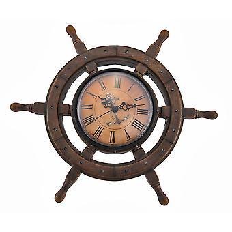11,5 tommer Master of Destiny Ship Wall Clock Nautiske Decor Coastal Beach Home Accent