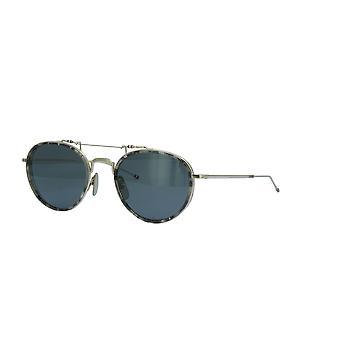 Thom Browne TBS815 03 Grey Tortoise Silver/Dark Grey Sunglasses