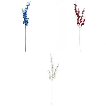 Hill Interiors Artificial Delphinium Flowers