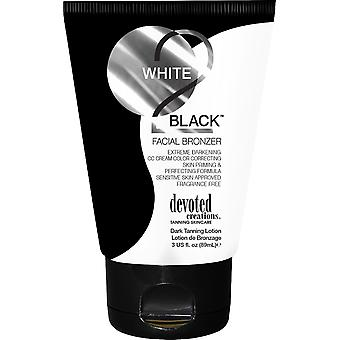 Dedicated Creations White 2 Black Facial Bronzer Extreme Dark Tanning Formula