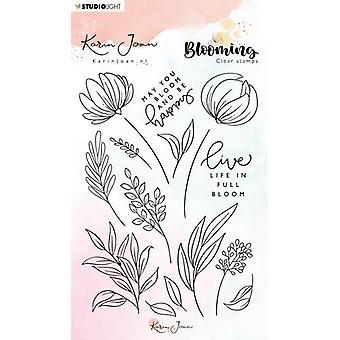Studio Light A6 Stamp - Karin Joan Blooming Collection – Number 04