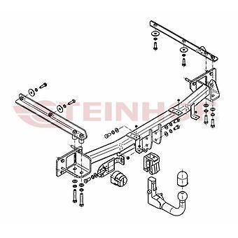 Steinhof Scollegamento automatico Towbar (Verticale) per C-CLASS Estate 2001-2007