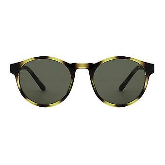 A.Kjaerbede Marvin Demi Olive Sunglasses