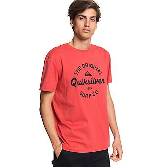 Quiksilver Mænd's T-shirt ~ Eye On The Storm rød