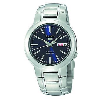Seiko 5 automaattinen sininen soittaa Stainless Steel Miesten Watch SNKA05K1