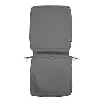 Classic Accessories Montlake Fadesafe Chair Cushion Cover, Light Charcoal, 44L X 20W X 3T (60-438-010801-Rt)