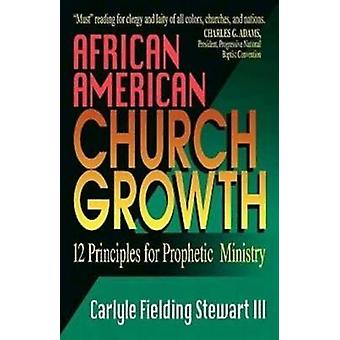 African American Church Growth 12 Principles for Prophetic Ministry by Stewart & Carlyle Fielding