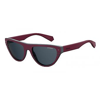 Sunglasses 6087FSF/C3 Women's Bordeaux with Grey Glass