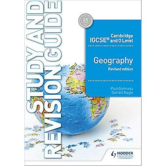 Cambridge IGCSE og O Level Geography Study and Revision Guide reviderer