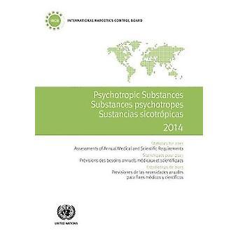 Psychotropic substances for 2014 - statistics for 2013 - assessments o
