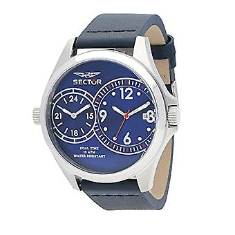 Sector watch Analog quartz men's watch with leather R3251180015