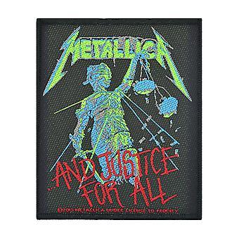 Metallica och rättvisa för alla vävda plåster
