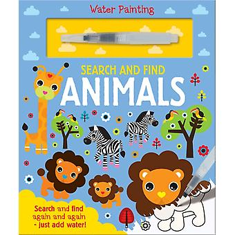 Search and Find Animals by Georgie Taylor
