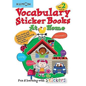 Vocabulary Sticker Books - At Home by Publishing Kumon - 9781941082737