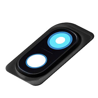 Rear Camera Lens Glass Cover with Black Outline for Samsung Galaxy A10