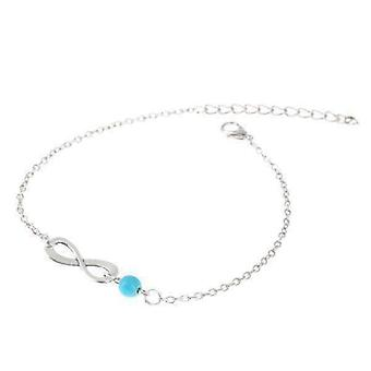Infinity koralik bransoletka kostki dla kobiety