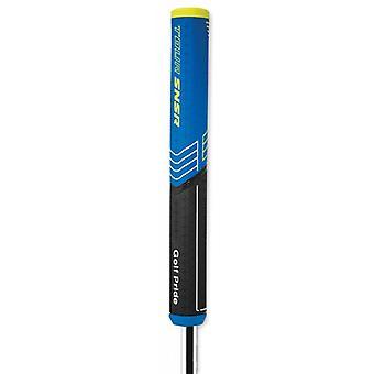 Golf Pride Tour SNSR Straight Golf Putter Grip Black/Blue 104cc or 140cc