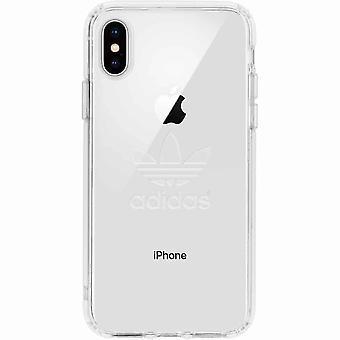 adidas Originals Clear Backcover Case iPhone XS / X - Transparent