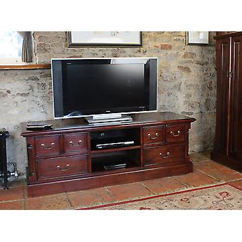 La Roque Widescreen Television Cabinet Brown - Baumhaus