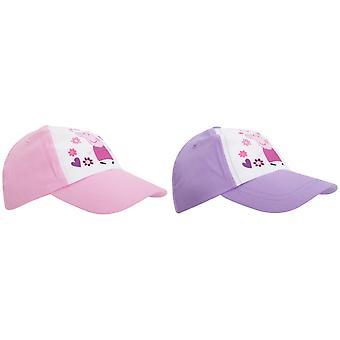 Peppa Pig Childrens/Girls Baseball Cap
