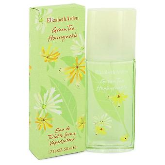Green Tea Honeysuckle Eau De Toilette Spray By Elizabeth Arden 1.7 oz Eau De Toilette Spray