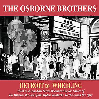 Osborne Brothers - Detroit to Wheeling [CD] USA import