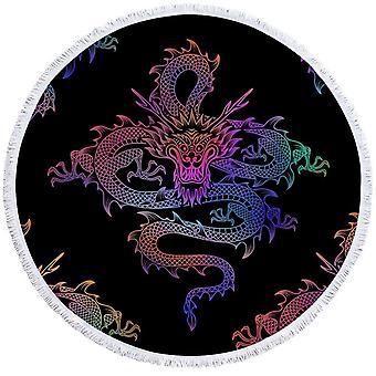 Kinesisk Dragon Beach håndkle