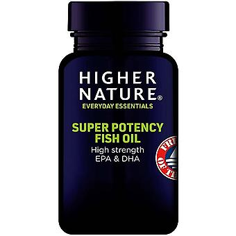 Higher Nature Super Potency Fish Oil Capsules 90 (FISH090)
