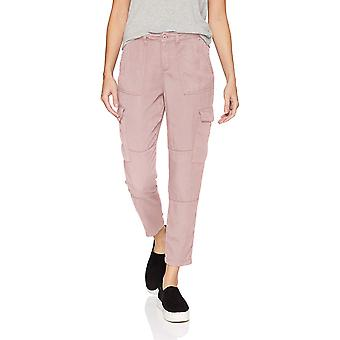Daily Ritual Women-apos;s Tencel Patch Pocket Cargo Pant,, Dusty Rose, Taille 16.0