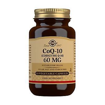 Coenzyme CoQ10 60 mg 60 vegetable capsules (60mg)