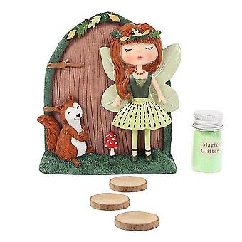 Something Different Scarlet and Sybil Fairy Door Gift Set