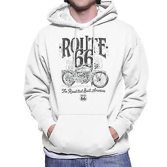 Route 66 Building America Men's Hooded Sweatshirt