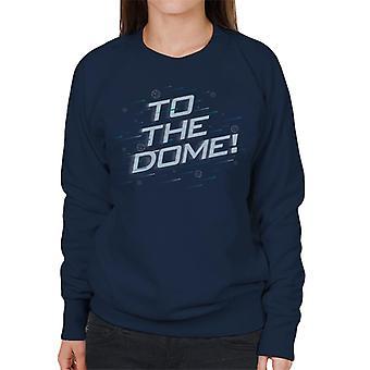 Krystal labyrinten til Dome kvinder ' s sweatshirt