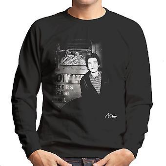 Joe Strummer Of The Clash Smiling Men's Sweatshirt