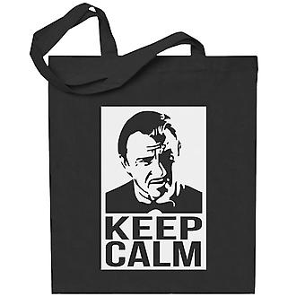 Hold rolig samtale Mr Wolf Pulp Fiction Totebag